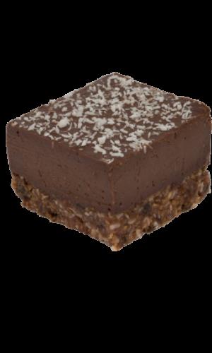 Vegan gebak Cacao Chia