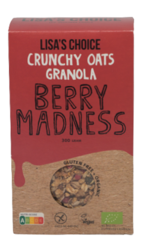 Granola Berry Madness