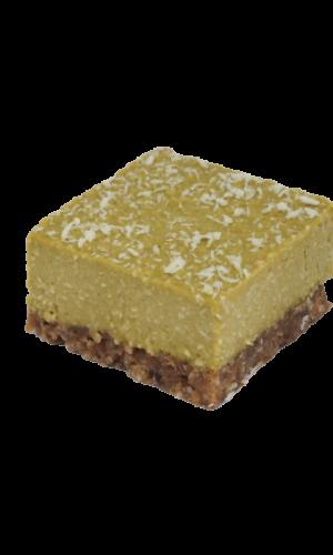 Vegan Lemon Moringa gebak